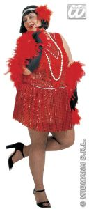 20's Charlston Flapper Sequin Dress